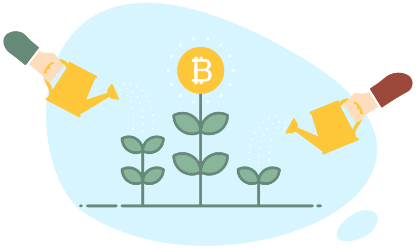 how to grow my bitcoin